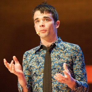 Performance at TEDxGlasgow 2014. Photo: Peter Copeland.
